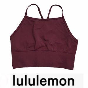 Lululemon Ebb to Street Bra Long Line Sark Adobe 8